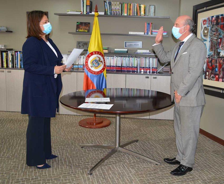 Ricardo Galindo Bueno es el nuevo viceministro de Turismo.